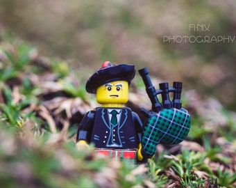 Lego Scotsman Photo Art Download Printable