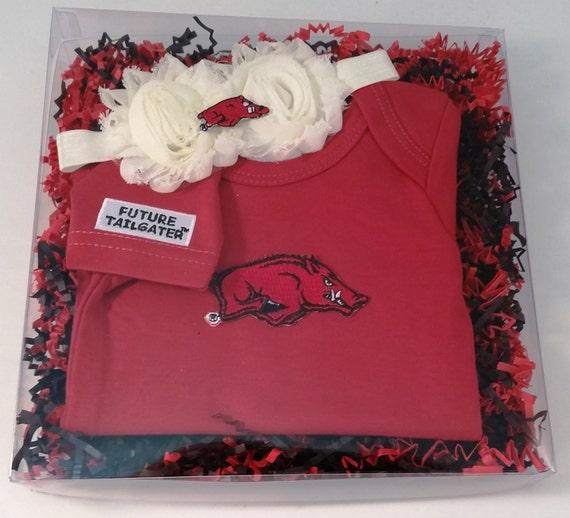 Arkansas razorbacks game day gal baby clothing by futuretailgater