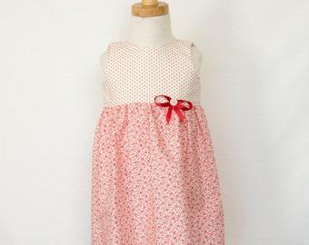 Girls Summer Tea Party Dress