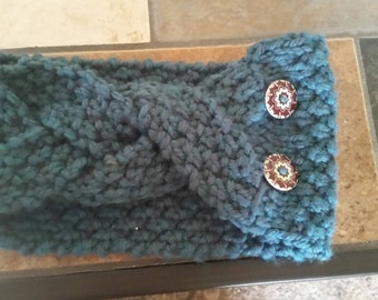 Knit Braided Headwarmer