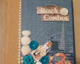 Beach Themed Memory Book