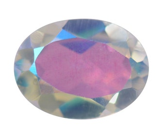 Mystic Mercury Glow Topaz Oval Cut Loose Gemstone 1A Quality 8x6mm TGW 0.95 cts.