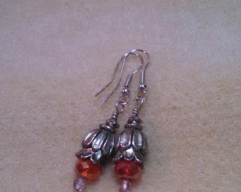 Fire Blossom Earrings
