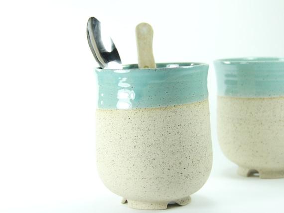kitchen utensil holder, Ceramic Utensil holder, housewarming gift ...