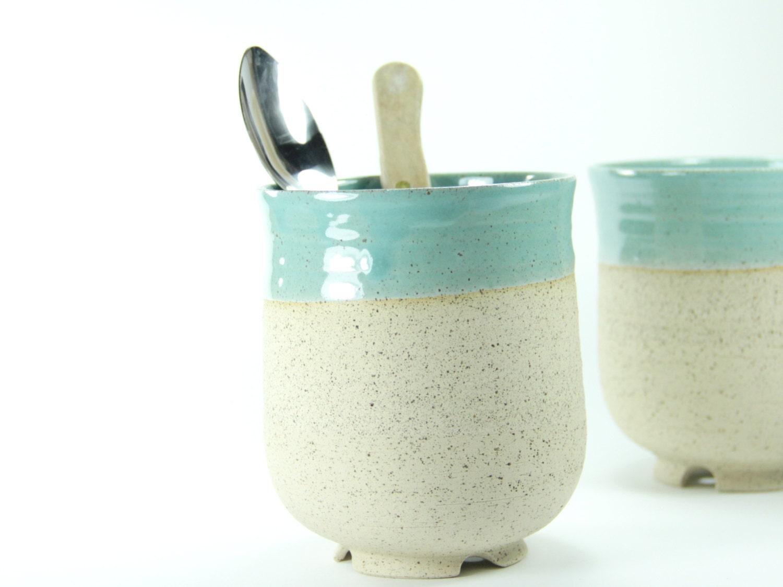Kitchen utensil holder ceramic utensil holder housewarming for Kitchen utensil holder