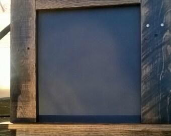 Chalkboard with Ledge & Key Hooks
