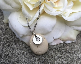 Natural River Stone Necklace