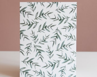 "Card illustration ""Plant"""