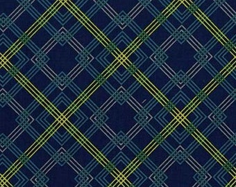 Adirondack in Navy, Rustique by Crazy Old Ladies for Michael Miller Fabrics 2131