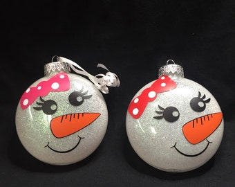 Snow Girl Ornament