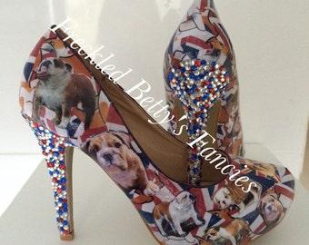 British Bulldog heels
