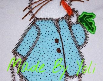 Embroidery Design Digitized Peter Rabbit Applique 5x7