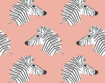 Changing Pad Cover - Pink Zebra