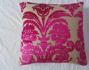 Designers Guild Fabric Ombrione Cassis Cushion Cover  / pillow