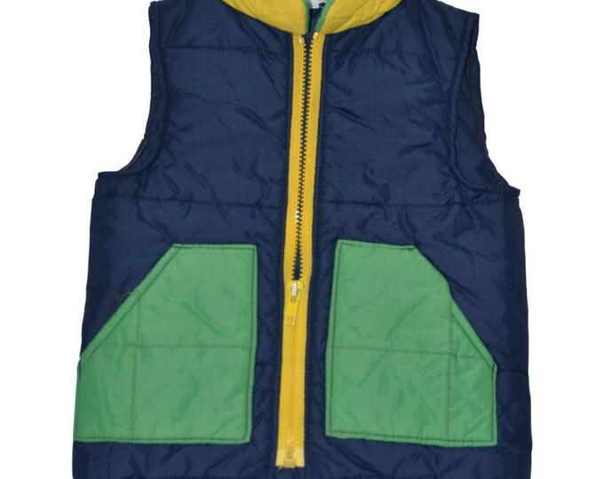 Vintage Estate BBI Parka Vest Coat