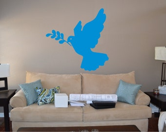 Peaceful Dove Wall Decal - rel4 (5)