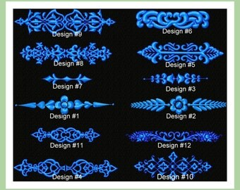 Borders and Dividers  Machine Embroidery Designs