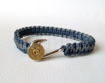BULLET FISHHOOK™, Bullet Bracelet, Fishhook Bracelet, Hunter, Fisher, Men's Bracelet