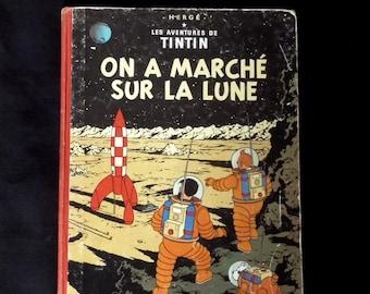TINTIN explorers on the Moon Hergé 1964