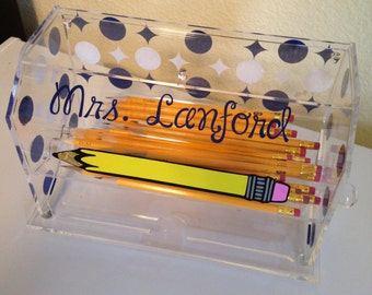 Make Your Own Pencil Dispenser Decal Kit