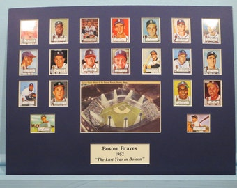 1952 Boston Braves led by Ed Mathews and Warren Spahn - The Last Year in Boston