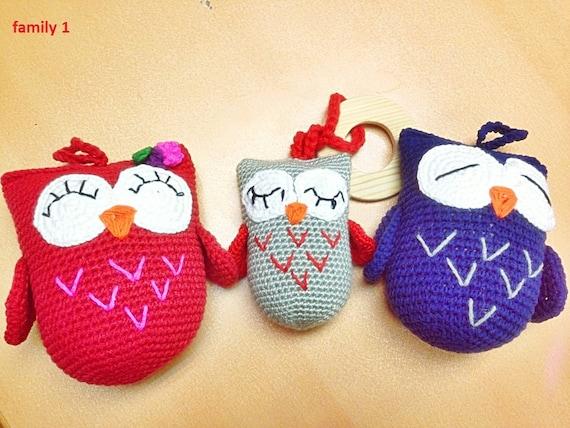 family owly the crochet dolls