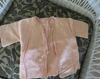 Vintage, Handmade, Baby Daygown, Shirt-free shipping USA