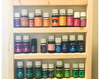 Wall Rack for Essential Oils