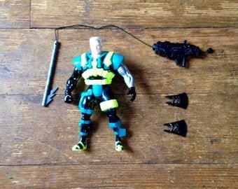 1994 Deep Sea Cable, X-Men/ X-Force, Series 4 Action Figure. Loose.  Toy Biz