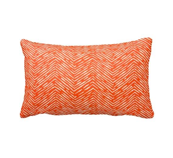 7 Sizes Available: Orange Throw Pillow Orange Pillow Cover