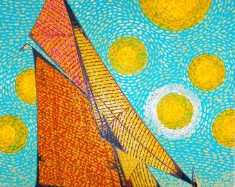 Sailboat Sicily