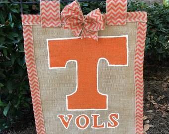 Tennesse Vols garden flag