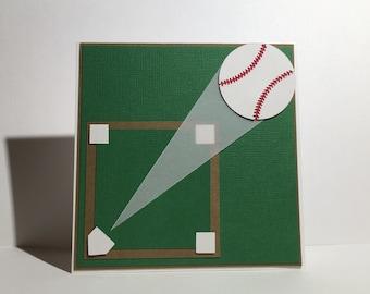 GRAND SLAM!, baseball, baseball diamond, home run