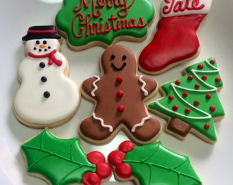 Christmas Cookies - One Dozen