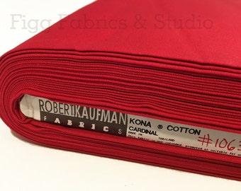 KONA Cotton in Cardinal (Color 1063)