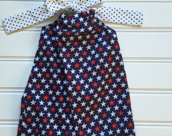 4th of July Dress, Toddler Dress, Red White Blue Dress, 4th of July Outfit, Toddler Girl Dress, Girl Patriotic Dress, Fourth of July Clothes