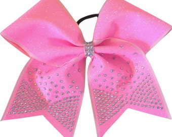 Glitter Bow with Bow Tail Bling