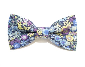 "Hair Bow ""Osaka"" Blue"