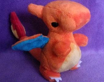 Charizard Charmeleon Charmander Chibi Plushies Plush Toys