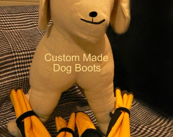 Best Havanese dog boots/ Water resistant gortex dog boots / Dog Boots for snow, rain,hiking  / Protect your dogs paws from salted, surfaces.