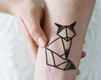 Geometric Tattoo Etsy