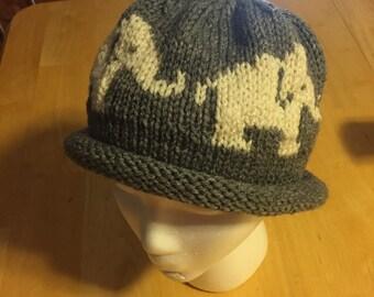 """The """"Ashlee"""" elephant hat"""