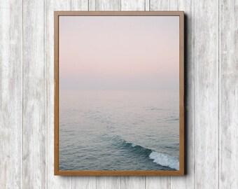 Salt Water Print - Large Art Print, Fine Art Print, Beach Wall Art, Boho Prints, Surf Art, Beach Photography, Landscape Photography