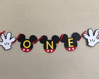 Mickey Mouse Birthday, Mickey Mouse Birthday Banner, Mickey Birthday, Mickey Birthday Banner, Mickey Mouse, Mickey Ears, Mickey Birthday