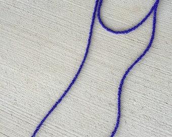 Dark blue double wrap