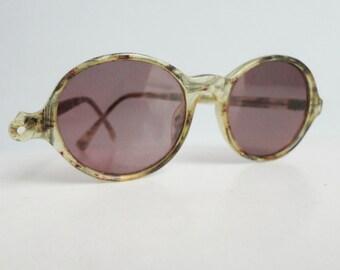 Cool 60s Vintage Ovale Sunglasses