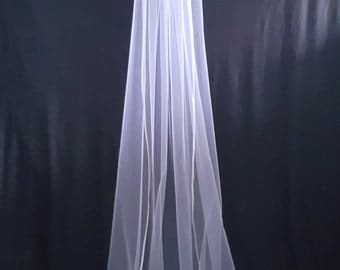 Cathedral Veil, White