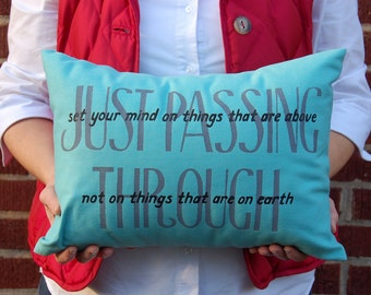 Just passing through - Special Color