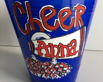 Personalized Sand Bucket | sand pail | beach pail | personalized beach pail | personalized beach bucket | cheer camp gift | Cheerleader gift