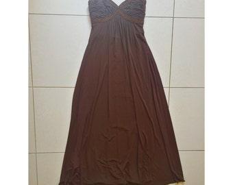 Designer long dress BCBG size 2